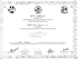 Dr Simin Muhammed kutty Certificate Dermacon-Pediatric-Dermatology
