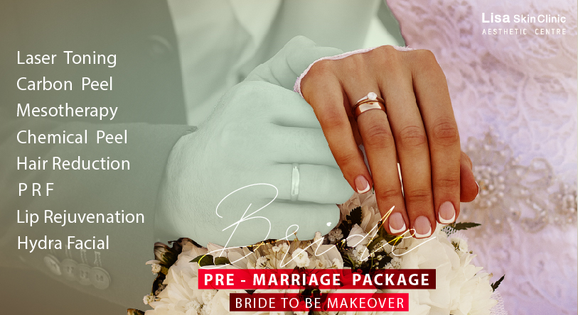 Total skincare package for Bride to be from Best skin - Aesthetic Clinic in Kerala, Lisa Skin Clinic by Dr Jenny Mathew